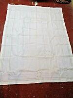 "Vintage Linen Tablecloth 72"" x 65"""