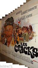 bourvil LES CRACKS  ! rare affiche cinema geante 240X320cm velo cyclistes 1968