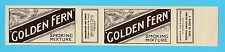 REDFORD  &  CO.  -  RARE TOBACCO WRAPPER  -  GOLDEN  FERN  SMOKING  MIXTURE