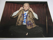 KIM FOWLEY rare signed 8x10 photo - The Runaways - deceased