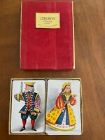 Congress Playing cards - double set - cell-u-tone finish- Complete Sets