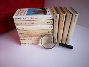 Vintage Observer's Book with dust covers, reference book, wild animal church