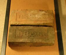Vintage bricks Duffney Brick CO bricks with CBMA symbol