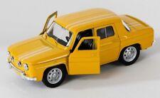 BLITZ VERSAND Renault R8 1960s gelb / yellow Welly Modell Auto 1:34-39 NEU & OVP