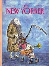 New Yorker COVER 01/02/1989 - New year 1989 -  KOREN