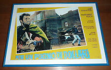 Fistful of Dollars/ CLINT EASTWOOD / SERGIO LEONE / 1964 / MOVIE POSTER