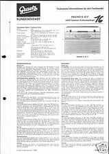 Graetz Orig. Service Manual Pagino K 43 F