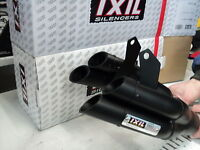 Auspuff Z 1000 IXIL Hyperlow Black plus Kawasaki Z 1000 Z 1000 SX  2010 bis 19 s
