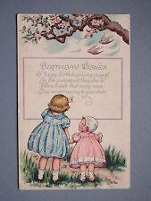 R&L Postcard: Birthday Wishes, Children's, Blossom Tree, USA