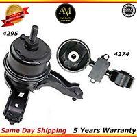 Engine Motor Mount Front Torque Strut Kit For 07/09 Toyota Camry 2.4L