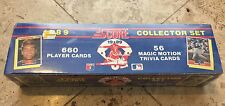 1989 SCORE BASEBALL COMPLETE COLLECTOR SET - FACTORY SEALED - BIGGIO ROOKIE