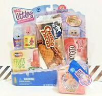 Shopkins REAL LITTLES Shopper Pack Season 13 Rare Cherry Popsicle ⭐ & Bonus