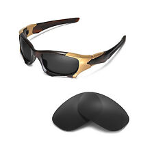 New Walleva Polarized Black Replacement Lenses For Oakley PIT BOSS II