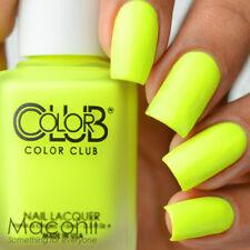 COLOR CLUB Nail Lacquer POP CHALK Cliff Notes ANR23 15mL Matte Yellow Lemon