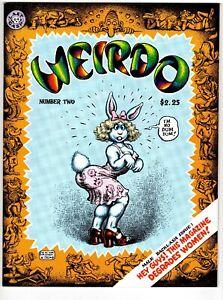 Weirdo 2 and 3 NM first pr. Robert Crumb