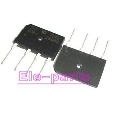 10pcs GBJ2508 GBJ-2508 25A 800V 25AMP Bridge Rectifier New Hot UK