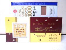 King Whetstone Large 800 Grit Deluxe AND 1000 Grit Finishing Sharpening Stones