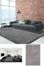 "Soft Cozy Solid Shag Area Rug Living and Bedroom Plain Plush Grey Color 5'3""x7'0"