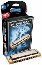 Hohner Blues Harp Harmonica, Key of B Flat, New in Box