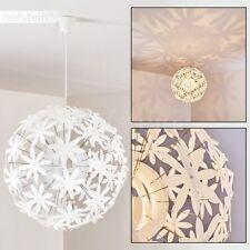 Lampe à suspension blanche Lampe pendante Plafonnier Lampe de chambre à coucher