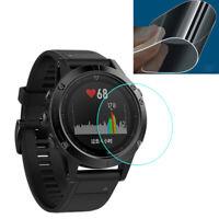 2x 9H+Tempered Glass Screen Protector Garmin Fenix 5 GPS Watch  Protective Film