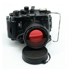 40M 130ft Underwater Diving Waterproof Housing Case for Panasonic GM1 12-32mm