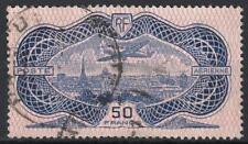 "FRANCE AERIEN 15 "" AVION CAUDRON SIMOUN 50F BURELAGE ROSE 1936"" OBLITERE TB M173"