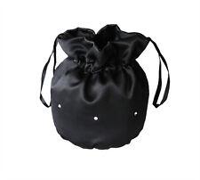 Satin Bridal Dolly Bag/Communion Pouch/Flower Girl Bridesmaid Handbag,Diamantes