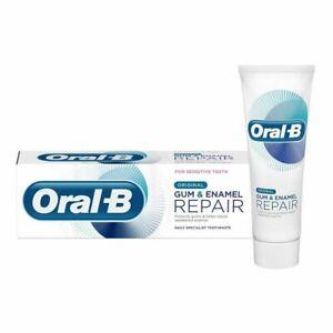 Oral B Gentle Whitening GUM & ENAMEL REPAIR Toothpaste For Sensative Teeth