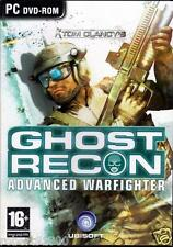 JEU PC CD ROM../....TOM CLANCY'S.....GHOST RECON.....ADVANCED WARFIGHTER...