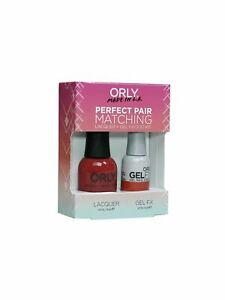 ORLY PERFECT PAIR MATCHING POLISH+GEL DUO NEW