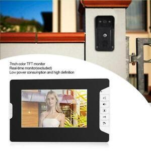 """7 """" Wired Video Doorbell Door Intercom Waterproof Night Vision Doorbell"""
