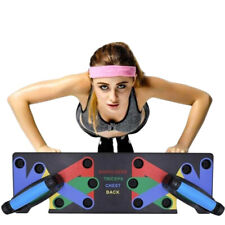 9 in 1 System Push-up Bracket Board Portable Workout Gym Fitness Training Sport