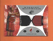 2003-04 SPX CARON BUTLER GAME-USED SHOOTING SHIRT JERSEY #WM22 MIAMI HEAT (A)