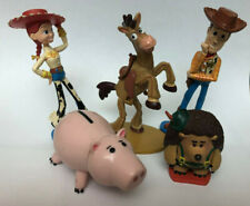 Disney Toy Story Jessie, Woody, Bullseye, Pricklepants, Hamm Cake Toppers Lot