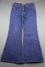 Vintage Women's Paris Blues Jeans Flare Size 11 (31x30) Zipper Fly