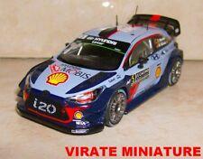HYUNDAI I20 WRC 15°RALLYE MONTE CARLO 2017 THIERRY NEUVILLE IXO 1/43