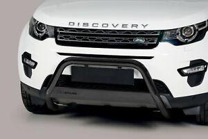 Frontbügel aus Edelstahl für Land Rover Discovery Sport - ø 63mm ABE Schwarzmatt