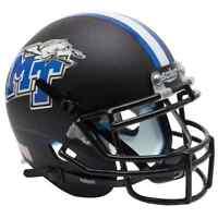 MIDDLE TENNESSEE STATE MTSU BLUE RAIDERS Schutt Authentic MINI Football Helmet