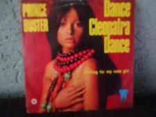 "Prince Buster Dance Cleopatra Dance 7"" Dutch Pic Sleeve Reggae Ska Shipping 4$"