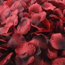 1000 pièces soie rose diverses couleurs fleur pétales de rose Marriage