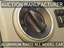 VW New Beetle 1998-2010 Chromes Anneaux Feux Allumage Aluminium Poli
