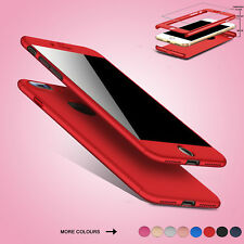 Shockproof Hybrid 360° Hard Case Protective Cover For Apple iPhone