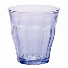 Duralex Picardie 25 cl Transparent Tumbler, Pack of 6, Marine Blue 250ml