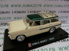 AP42N Voiture 1/43 IXO AUTO PLUS : SIMCA Marly 1959 break