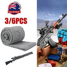 "6X Heavy Duty Gun Sock Silicone Treated 52"" Rifle Shotgun Protection Bag Case P"