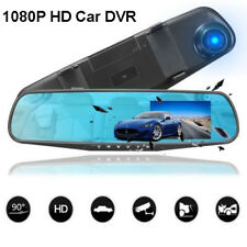 2.8'' HD 1080P Car Camera DVR Rearview Mirror Motion Detection Dash Cam Recorder