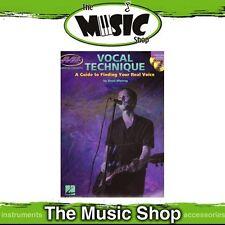 New Musicians Institute: Vocal Technique Music Tuition Book & 2x CDs