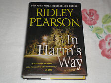 In Harm's Way by Ridley Pearson    *SIGNED*