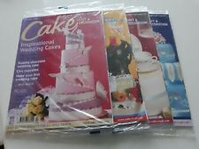 2013 - 4 x CAKE CRAFT AND DECORATION MAGAZINES5
